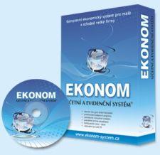 Krabice a CD - účetní a evidenční systém EKONOM